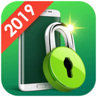 MAX AppLock Fingerprint lock Privacy guard logo b