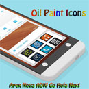 OIL PAINT ICONS APEX.NOVA .ADW logo