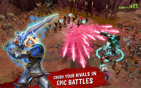 Download Battle of Heroes Android Apk Obb SD - Google Play