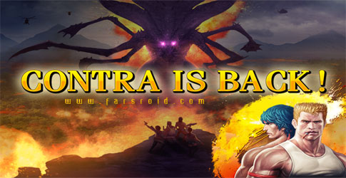 Download Contra: Evolution - Contra Android Memorable Game!