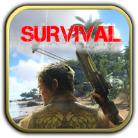 Rusty Island Survival Logo