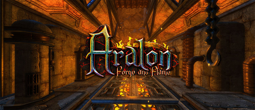 "Download Aralon: Forge and Flame 3d RPG - Super action game ""Aralon"" Android + mod + data"