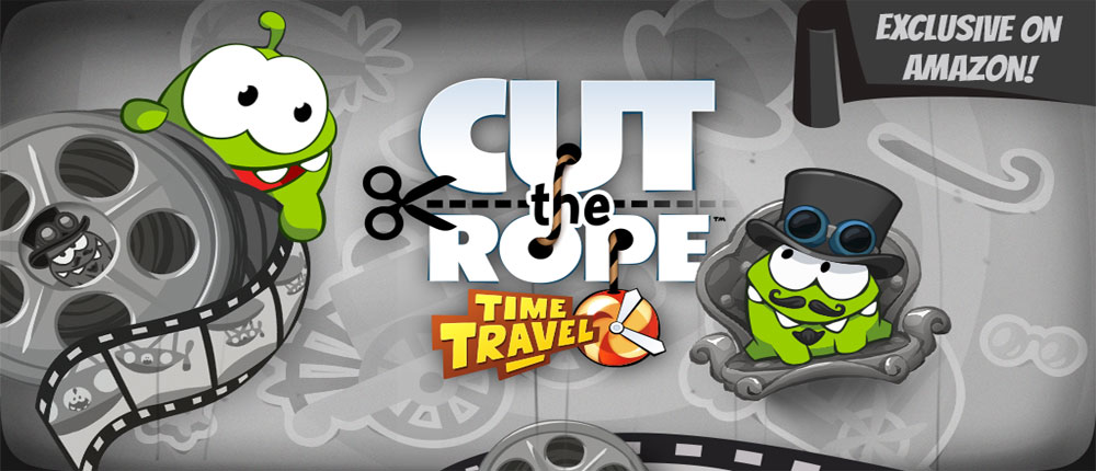 Download Cut the Rope: Time Travel 1.0 + HD - Download the new version of Rope Game