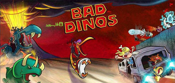 Download Bad Dinos - Android game Bad Dinos + Data