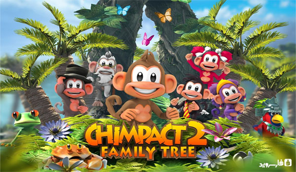 "Download Chimpact 2 Family Tree - wonderful game ""Chimpanzee Family 2"" Android + mod"