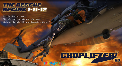 Download Choplifter HD - Android war helicopter game + data