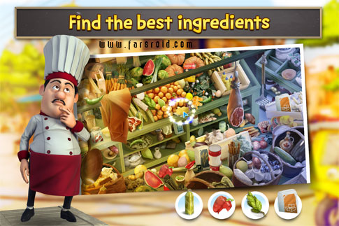 Download Gourmet Chef Challenge (Full) - Android brain teaser!