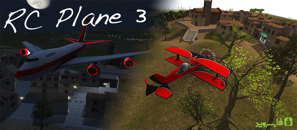 Download RC Plane 3 - real airplane simulator game for Android + mode + data