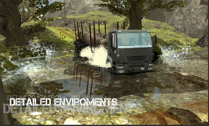 Download Truck Simulator: Offroad - Android truck simulator game!
