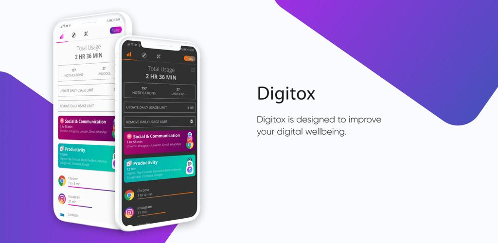 Digitox Digital Wellbeing - Screen Time