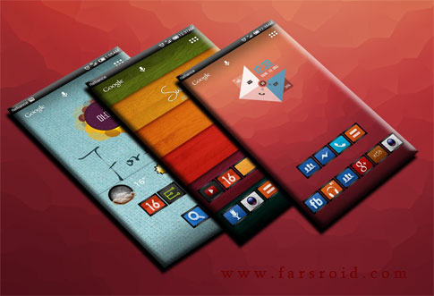 Download OIL PAINT ICONS APEX / NOVA / ADW - stylish Android theme!
